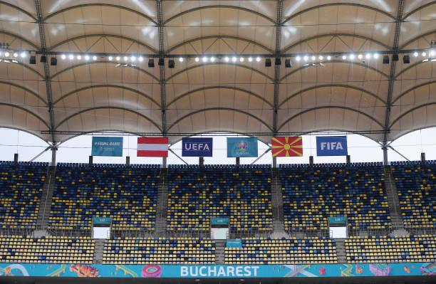 Austria and North Macedonia will face off in Bucharest / Alex Caparros (UEFA)