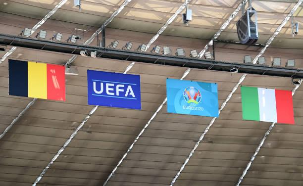 Belgium will clash with Italy on the first day of the EURO 2020 quarter-finals / SEBASTIAN WIDMANN / UEFA