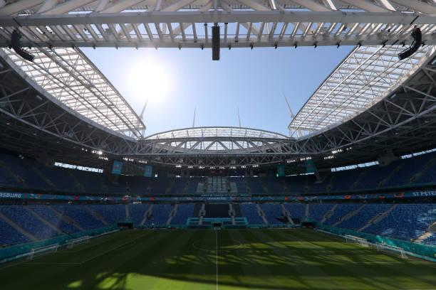 The St. Petersburg Stadium is the venue for the first quarter-final game of EURO 2020 / JOOSEP MARTINSON/UEFA