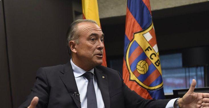 FC Barcelona's Vice President Rafa Yuste / MUNDO DEPORTIVO
