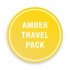 Covid-19 Amber Travel Pack