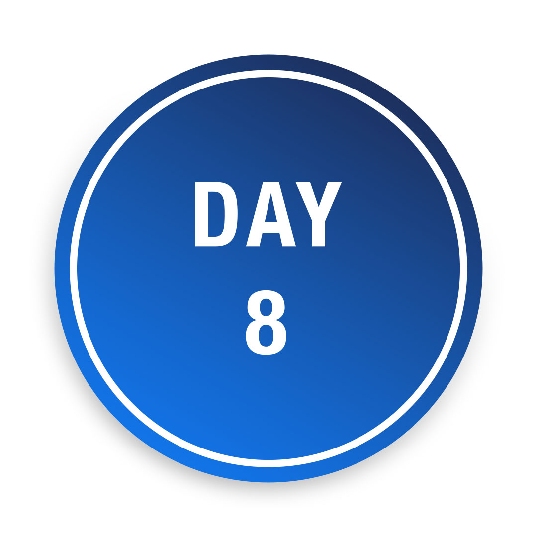 Covid-19<br>Day 8 Test<br>£80.00
