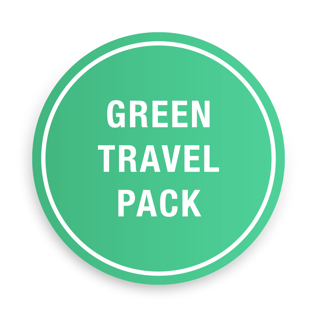 Green<br>Travel Pack<br>£160.00
