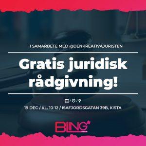 BLING - Gratis juridisk rådgivning