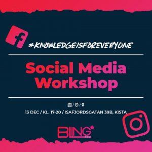 BLING - Workshop om sociala medier