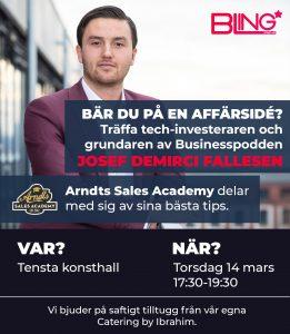 Josef Fallesen Event
