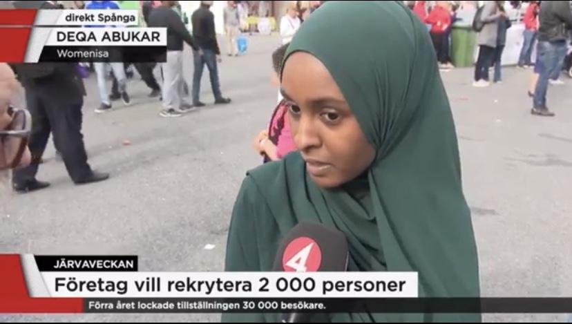 Deqa Abukar TV4