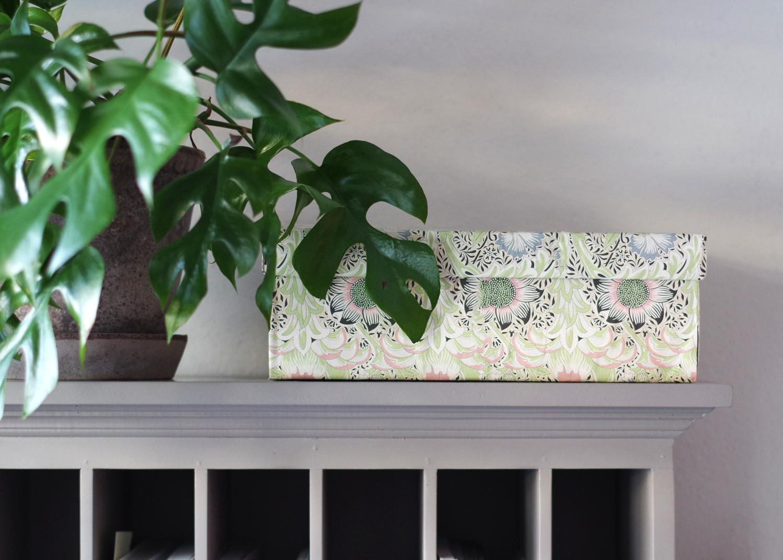 DIY – Fixa en tjusig förvaringsbox med växttema!