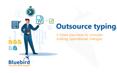 5 times you could outsource your typing