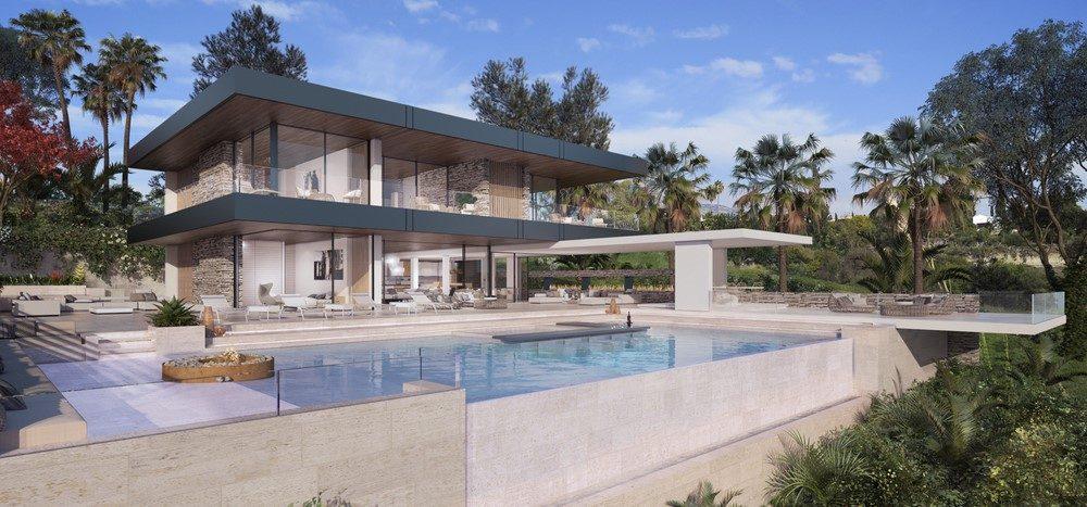 Designer villa with sea views in Benahavís