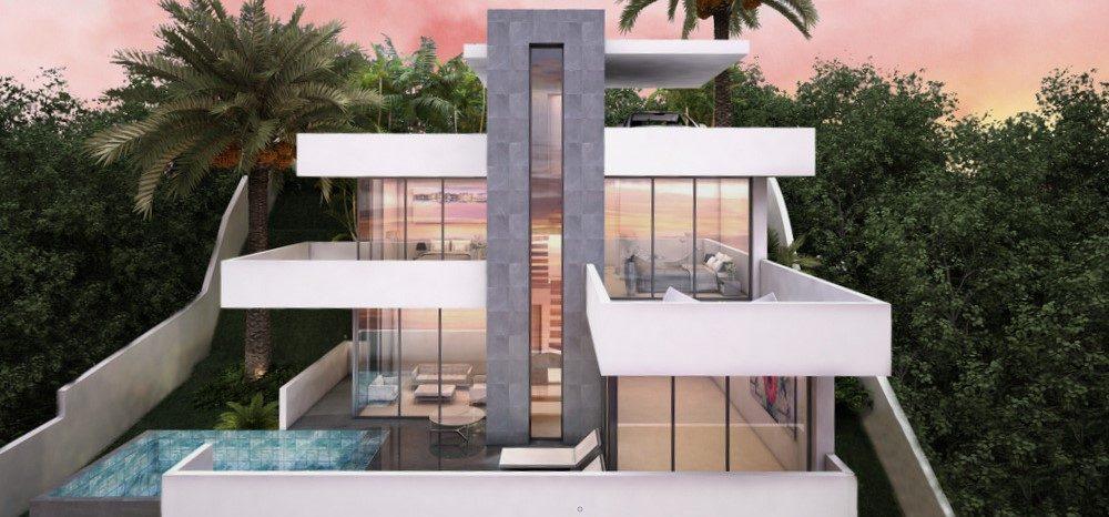 Modern turnkey villa