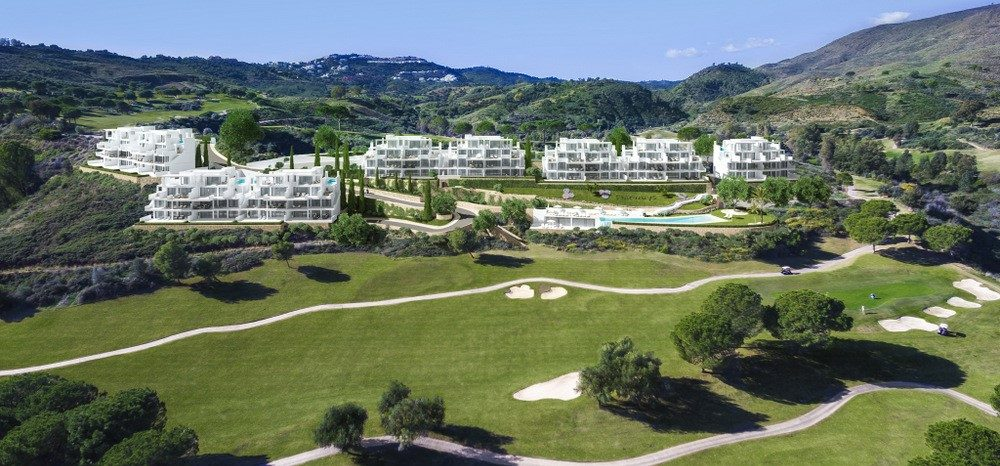 Contemporary apartments and penthouses in La Cala Golf