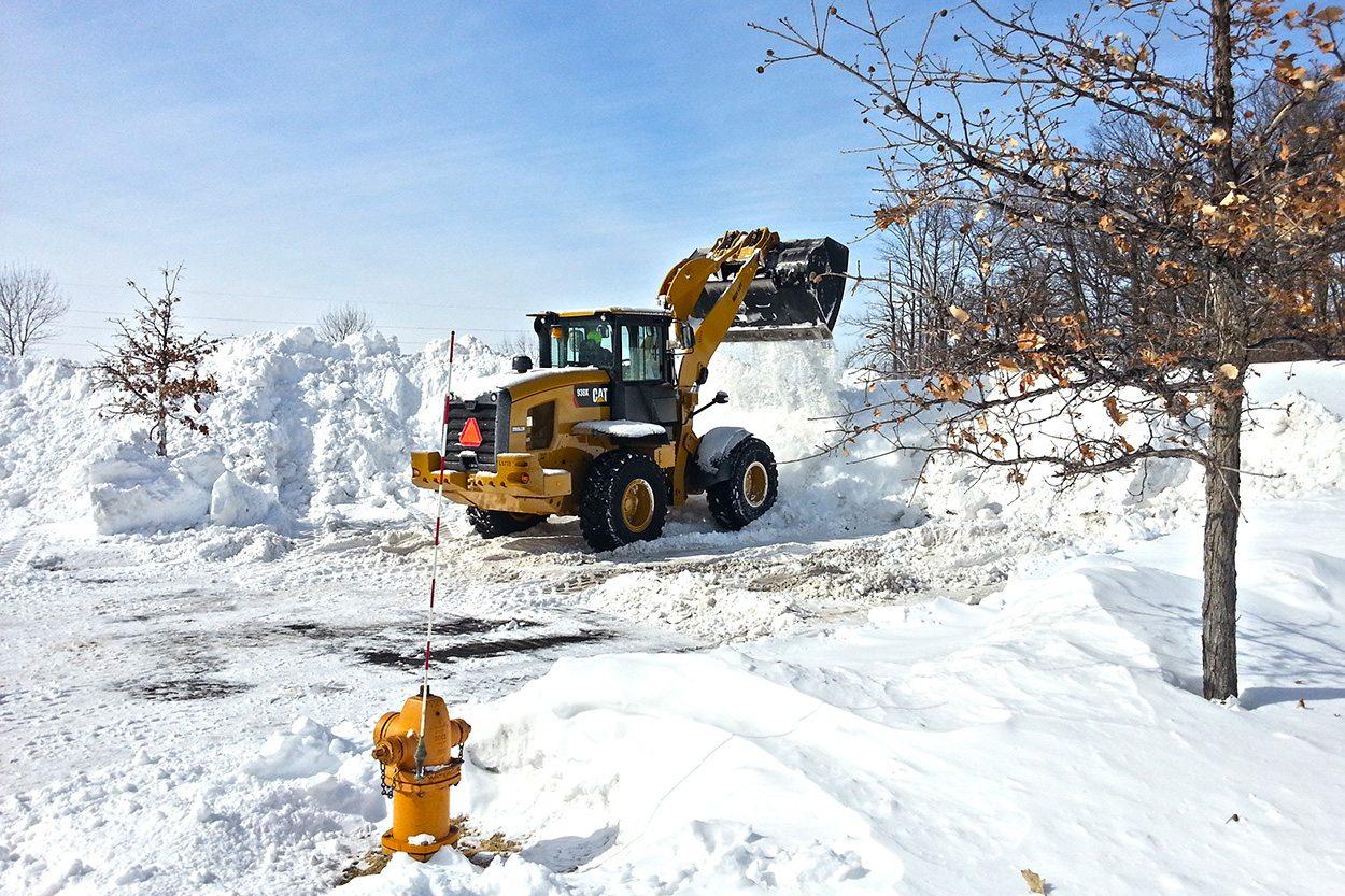Grave om vinteren? Vintergraving? Det er mange fordeler med å grave om vinteren. Bergen Maskin & Transport