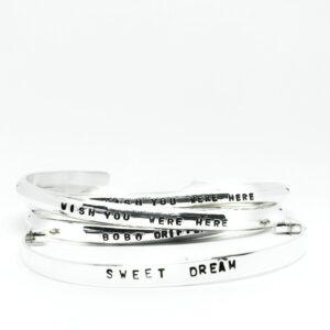 Raw – Silver bracelet