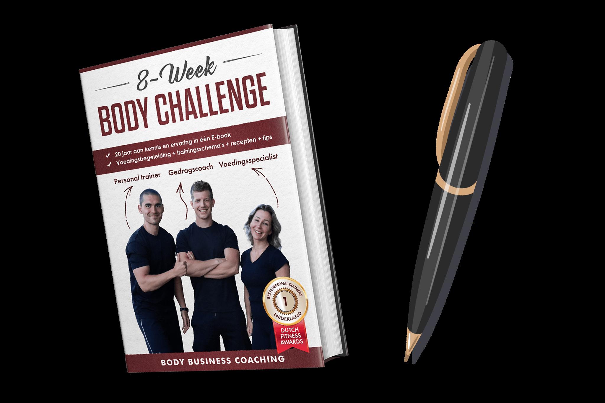 8 Week Body Challenge Stappen Foto Personal Training Apeldoorn