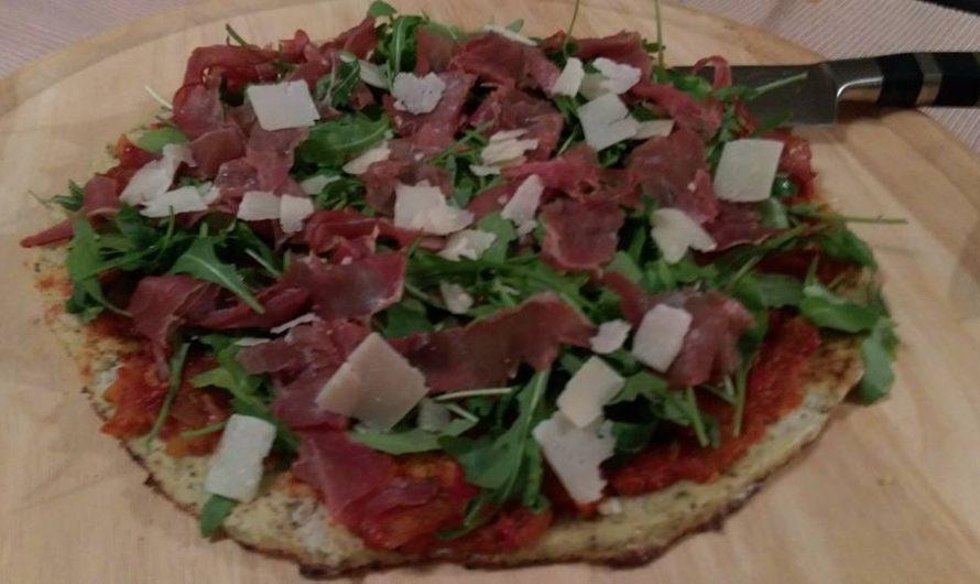 Blumenkohl-Pizza-Boden