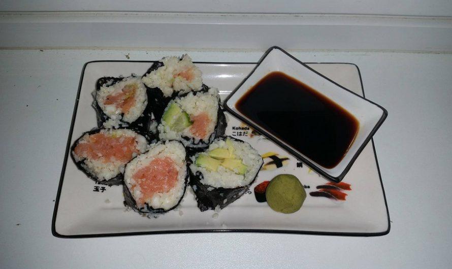 Blumenkohl-Reis-Sushi