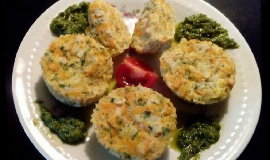 Eiermuffins mit Zucchini