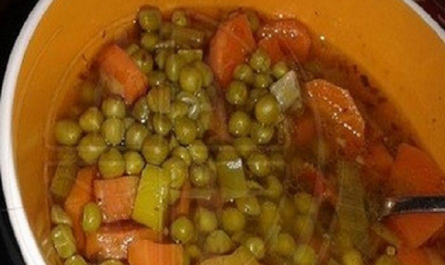 Erbsen-Suppe