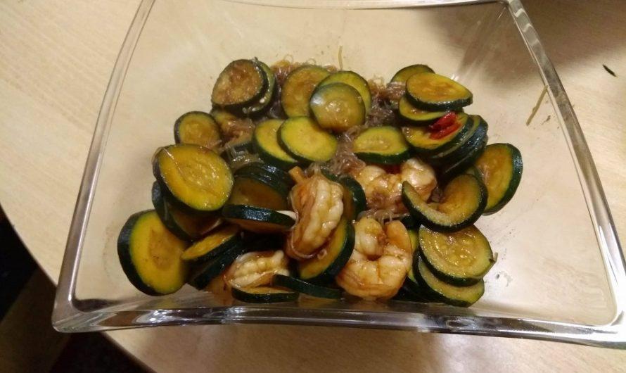 Garnelen-Zucchini-Pfanne