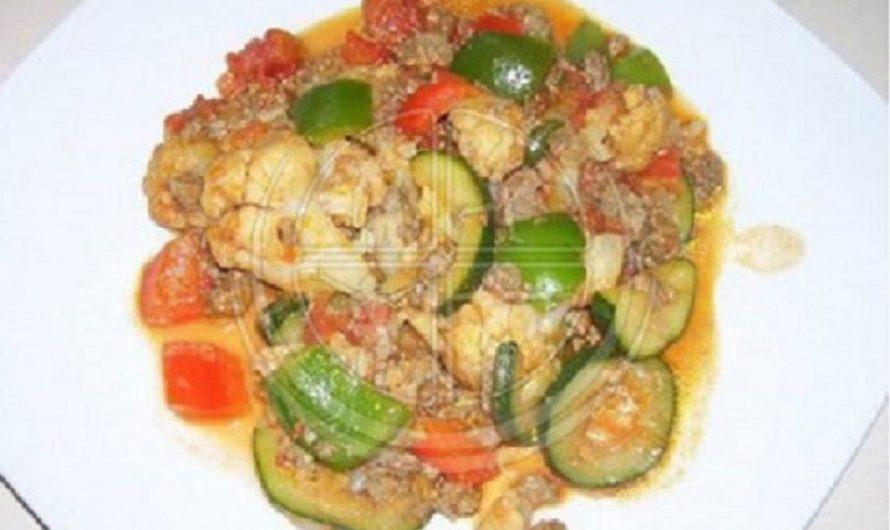 Gemüse-Hackfleisch-Topf