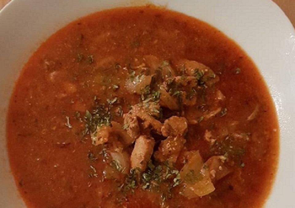 Gyros-Suppe
