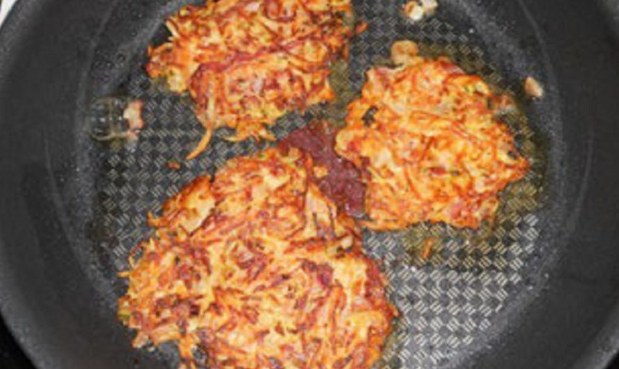 Karotten-Zucchini Puffer
