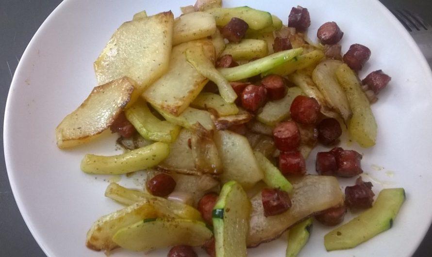 Kohlrabi-Bratkartoffeln