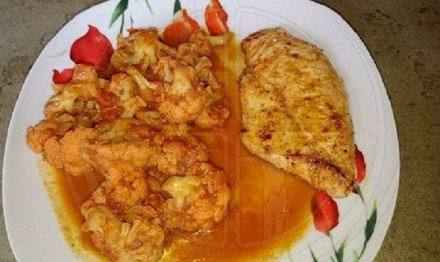 Indisches-Blumenkohl-Curry