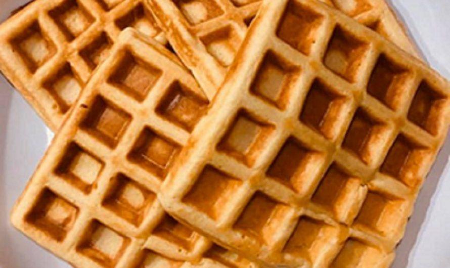 Protein-Shake-Waffeln