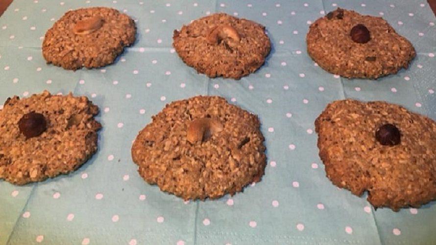 Porridge-Cookies