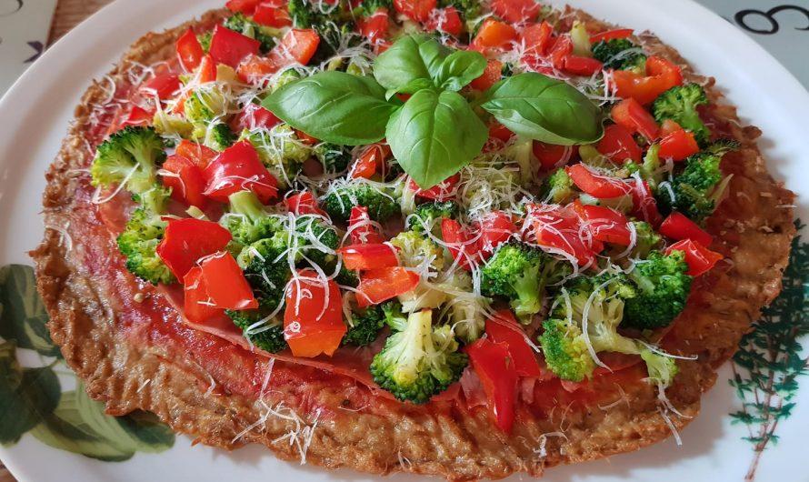 Thunfisch-Pizzaboden