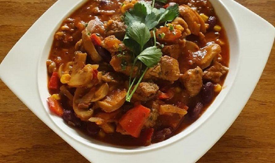 Mexikanisches Rindfleisch-Chilli