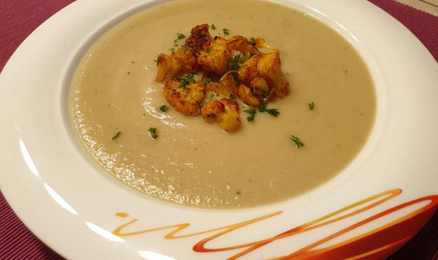 Blumenkohl Petersilienwurzel Suppe