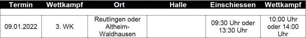 Landesliga Süd Recurve Bogen 2021/2022 3. WK-Tag @ Bogenhalle SV Altheim-Waldhausen | Altheim | Baden-Württemberg | Deutschland