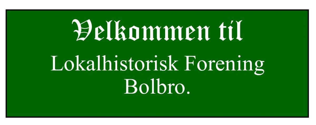 Bolbro Lokalhistorie