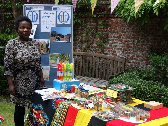 Mothers' Union stall at the May Fair