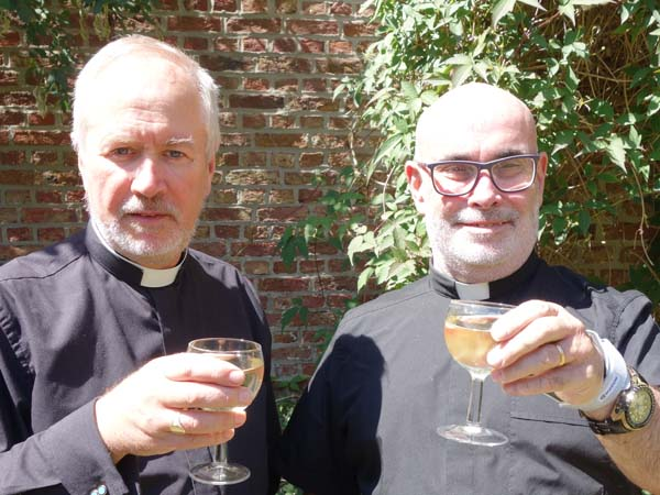 Fr Andrew & Fr Brian ordained 35 years
