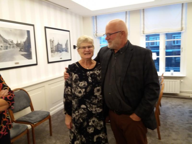 Søren Fanø med sin søsten Kirsten 09-2018