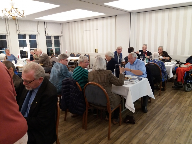 Middag i Borgerforeningen 26.9.2018