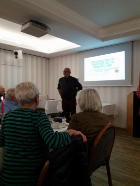 Søren Fanø holder foredrag i Borgerforeningen Flensborg 26.9.18