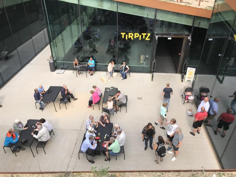 Indgangen til Tirpitz-museet