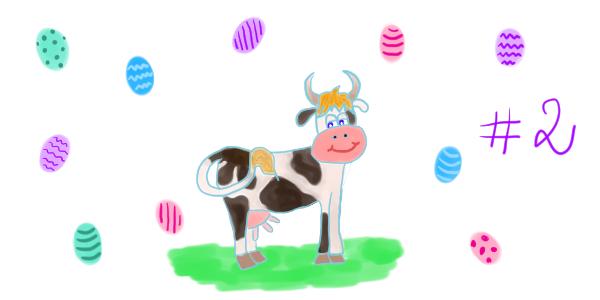 """La vache de Pâques – chapitre 2: Pâquerette en promenade<span class=""""badge-status"""" style=""""background:#FF912C"""">abonnés</span>"""