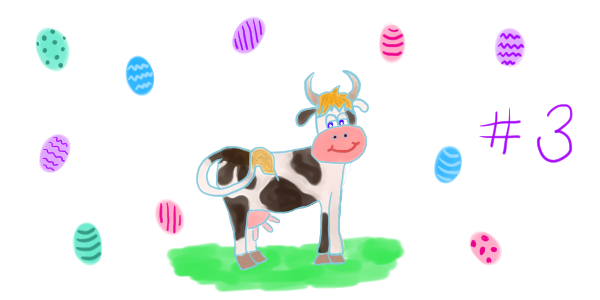 """La vache de Pâques – chapitre 3: Pâquerette à « Wonder Wortel Land »<span class=""""badge-status"""" style=""""background:#FF912C"""">abonnés</span>"""