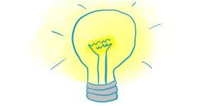 """L'ampoule à idées <span class=""""badge-status"""" style=""""background:#FF912C"""">abonnés</span>"""