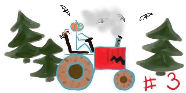 """Le tract-horreur d'Halloween – chapitre 3: Mission de citrouilles <span class=""""badge-status"""" style=""""background:#FF912C"""">abonnés</span>"""