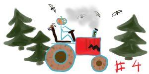 """Le tract-horreur d'Halloween – chapitre 4: Au travail les chauve-souris <span class=""""badge-status"""" style=""""background:#FF912C"""">abonnés</span>"""