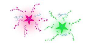 """Bonne-Année et Bonne-Santé <span class=""""rmp-archive-results-widget rmp-archive-results-widget--not-rated""""><i class="""" rmp-icon rmp-icon--ratings rmp-icon--star """"></i><i class="""" rmp-icon rmp-icon--ratings rmp-icon--star """"></i><i class="""" rmp-icon rmp-icon--ratings rmp-icon--star """"></i><i class="""" rmp-icon rmp-icon--ratings rmp-icon--star """"></i><i class="""" rmp-icon rmp-icon--ratings rmp-icon--star """"></i> <span>0 (0)</span></span><span class=""""badge-status"""" style=""""background:#FF912C"""">abonnés</span>"""