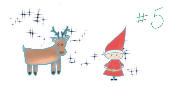 """Le cadeau de Noël – chapitre 5 – Aller-retour en traîneau <span class=""""badge-status"""" style=""""background:#FF912C"""">abonnés</span>"""