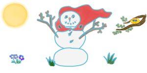 """Super bonhomme de neige <span class=""""badge-status"""" style=""""background:#FF912C"""">abonnés</span>"""